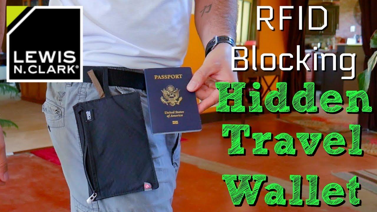 c0b37782463b Lewis N. Clark RFID Blocking Hidden Travel Wallet