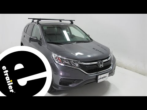 Yakima Roof Rack Review - 2016 Honda CR-V - etrailer.com