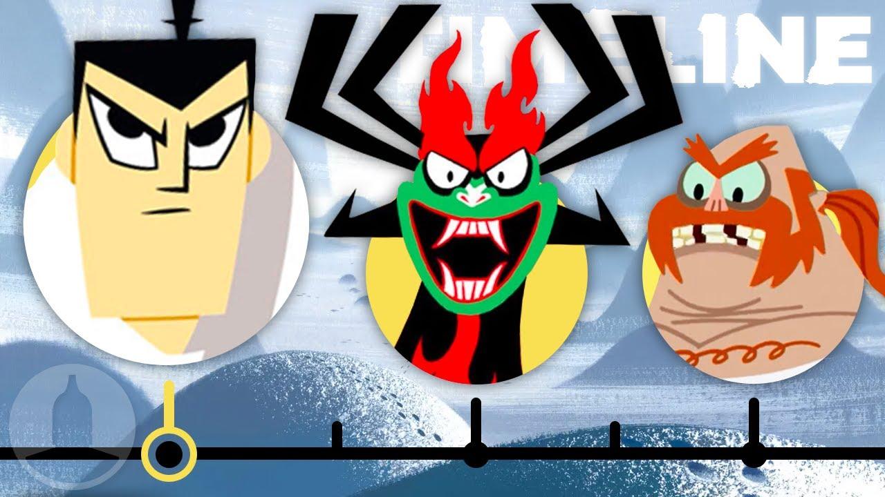 Download The Complete Samurai Jack Timeline   Channel Frederator