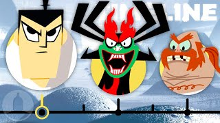 The Complete Samurai Jack Timeline | Channel Frederator