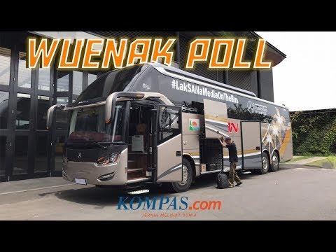 Jajal Bus PO SAN MB OC 500 RF 2542 Dari Semarang Ke Jakarta
