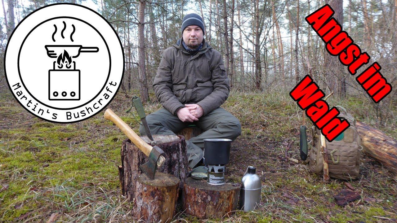 Angst im Wald, eure Fragen meine Antworten | Martin´s Bushcraft