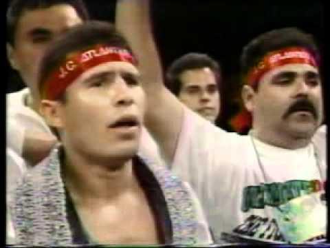 Vicente Fernandez  Himno Mexicano  Julio Cesar Chavez Hector Camacho Boxing