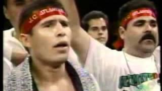 Vicente Fernandez - Himno Mexicano - Julio Cesar Chavez Hector Camacho Boxing