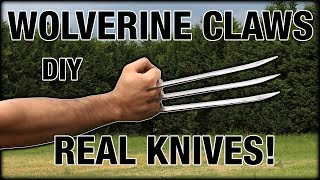 Real Wolverine Claws!