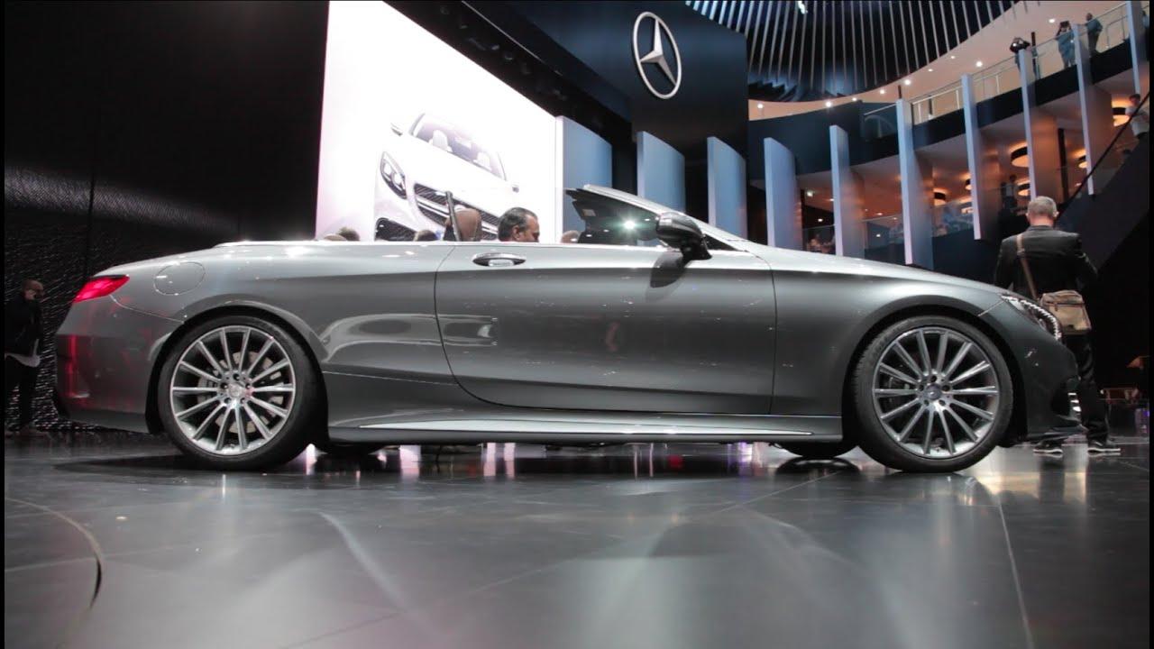 2017 Mercedes Benz S Class Convertible 2015 Frankfurt