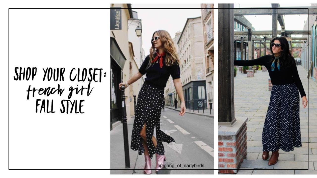 Shop Your Closet: French Girl Fall Style | Curated Capsule Closet | Fashion  Envy | Slow Fashion