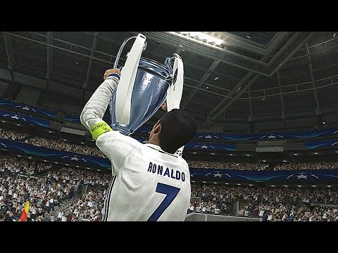 PES 2017 - UEFA Champions League Final - REAL MADRID vs BARCELONA (Penalty Shootout)