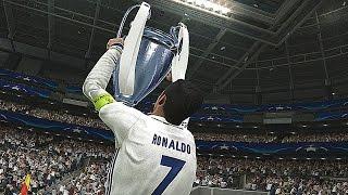 PES 2017 - UEFA Champions League Final - REAL MADRID vs BARCELONA (Penalty Shootout)