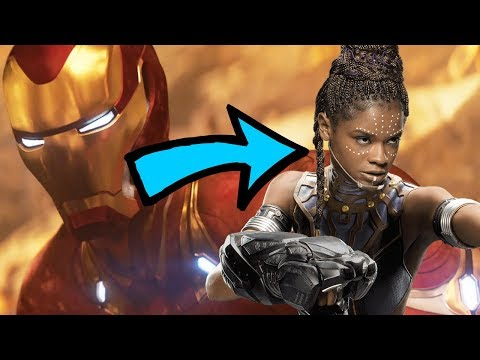 Shuri To Become Ironheart In Avengers 4 And Black Panther 2?