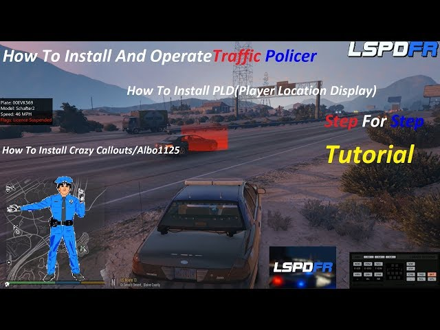 How To Install Traffic Policer, Callouts, and Player