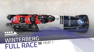 Winterberg | BMW IBSF World Cup 2020/2021 - 4-Man Bobsleigh Heat 1 | IBSF Official