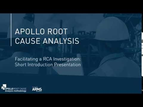 Introduction to the Apollo Root Cause Analysis Methodology