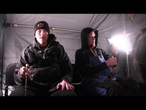 Ice Fishing 2017 - INSANE PERCH BITE & MONSTER GILL - Fox Lake, WI