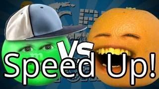 Annoying Orange -  Epic Rap Battles Of Kitchenry (ft. NicePeter) (Speed Up!)