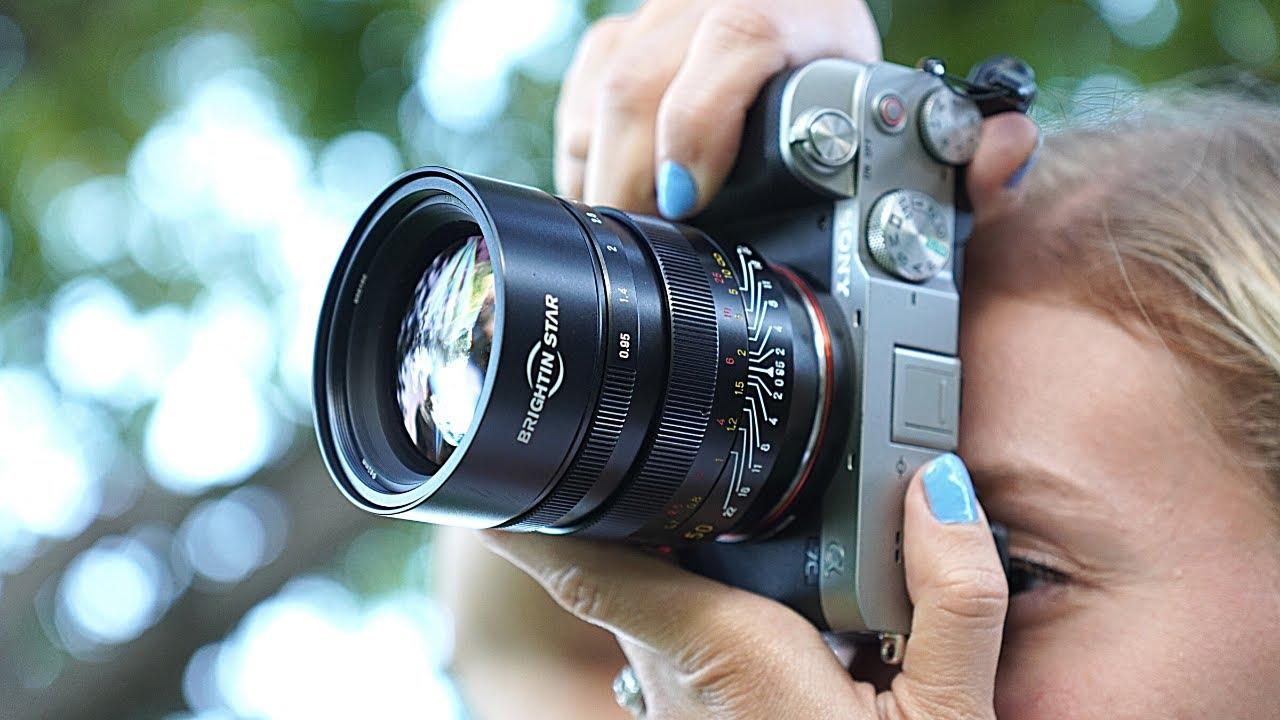 Download A 50mm F0.95 Full Frame Lens for Under $400