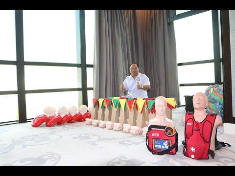บรรยายสดการปฐมพยาบาลเบื้องต้น First Aid