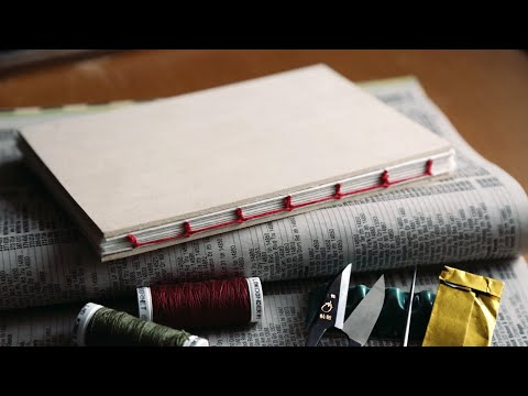 30 Minutes of Bookbinding (NO MUSIC)