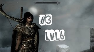 3 серия прохождения Skyrim с модами