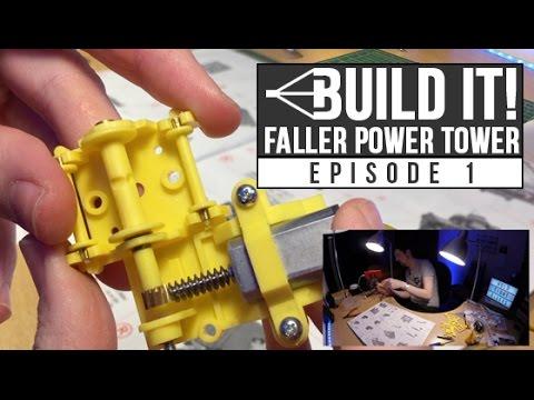 HTR Build It! Faller Power Tower | Episode 1 | Platform and motor assembly