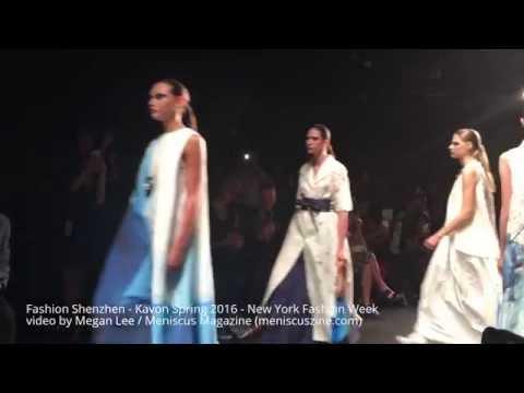 Fashion Shenzhen - Kavon Spring 2016 - New York Fashion Week #NYFW - Meniscus Magazine