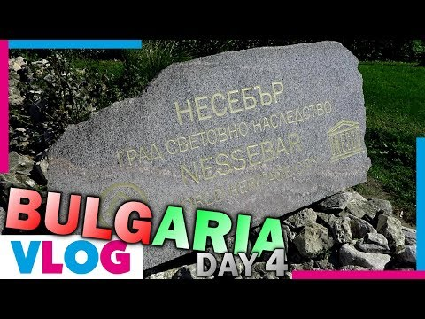 "Bulgaria Day 4 - ""To: NESSEBAR"" - QwertyVlogs"
