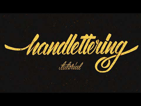 hand-lettering-tutorial-for-beginners
