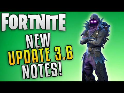 Fortnite Update 3.6 Patch Notes