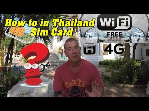Activate Your Cell Phone. How To In Thailand