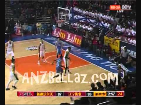 Patty Mills - Xinjiang Flying Tigers vs Liaoning Dinosaurs Quarter 4
