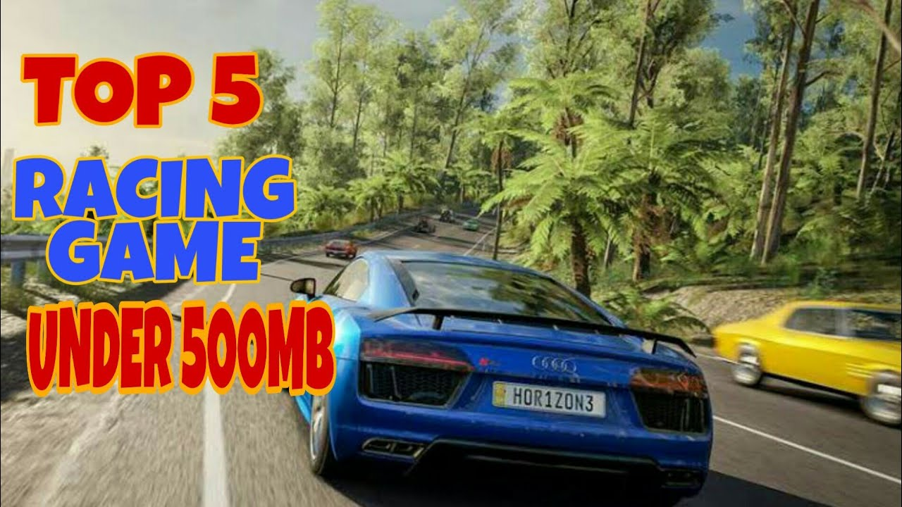 Top 5 Racing Games For Android Under 500 Mb High Graphics Youtube