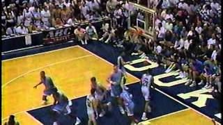 1992 Duke Blue Devils vs UNC Tarheels (final home game)