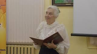Творческий вечер Аленчиковой Т.Ф..Центральная библиотека Долгопрудного,3.11.2018.8