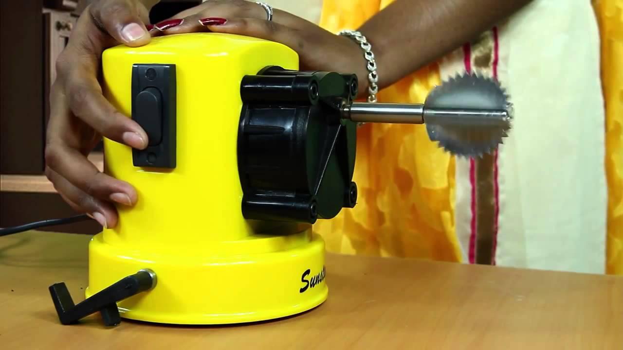 82dd17145 Electric Coconut Scraper by Sun Industries