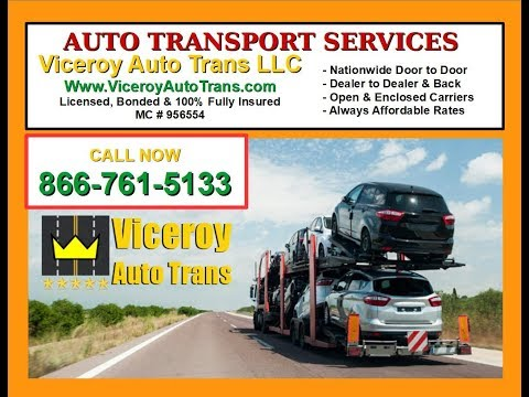 Shipping to or from Connecticut Car, Truck, Van & SUV Auto Transport - Viceroy Auto Trans