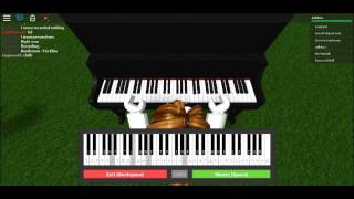 ROBLOX Piano Keyboard | Beethoven Fur Elise