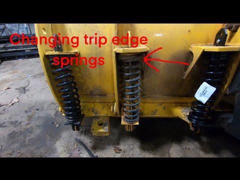 Replacing Fisher Plow Trip Edge Springs