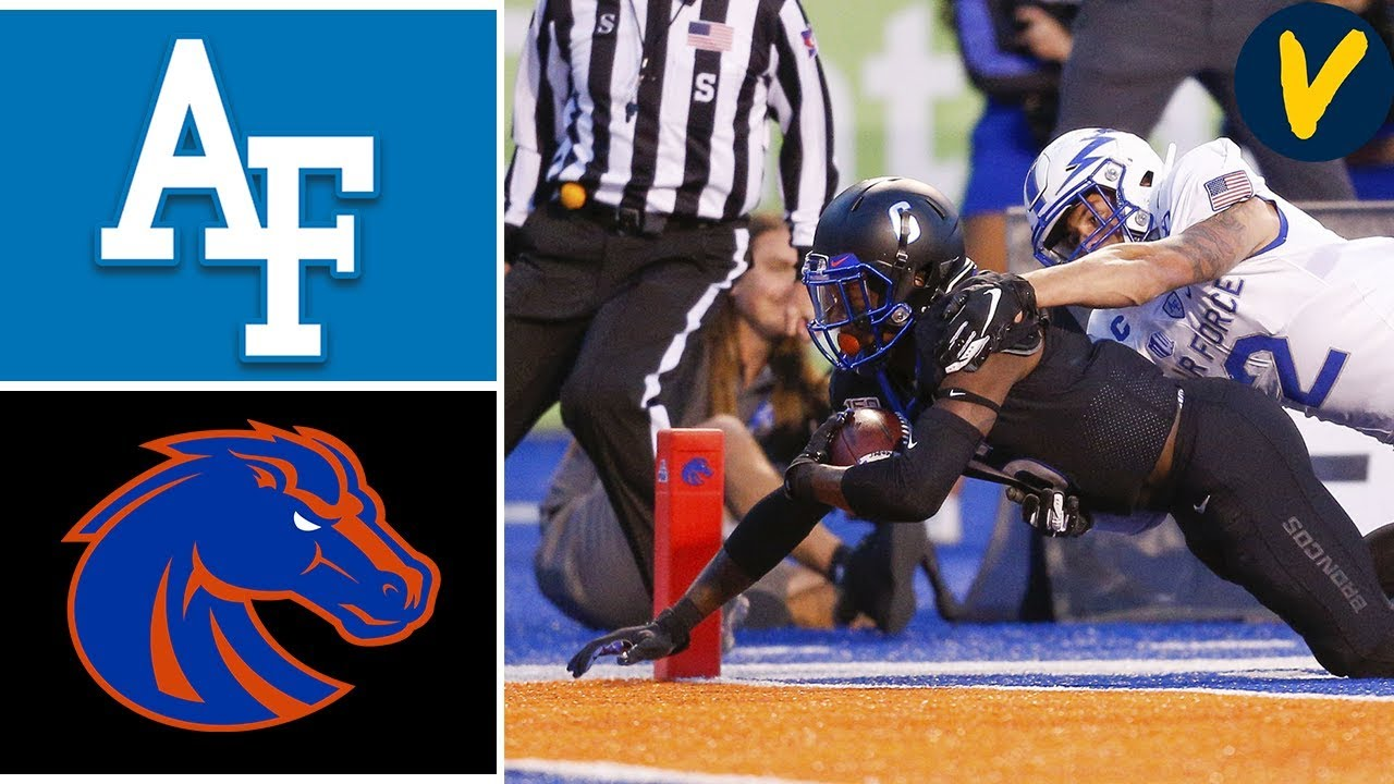 Week 4 Airforce vs #20 Boise State College Football Full Game Highlights 9/20/2019