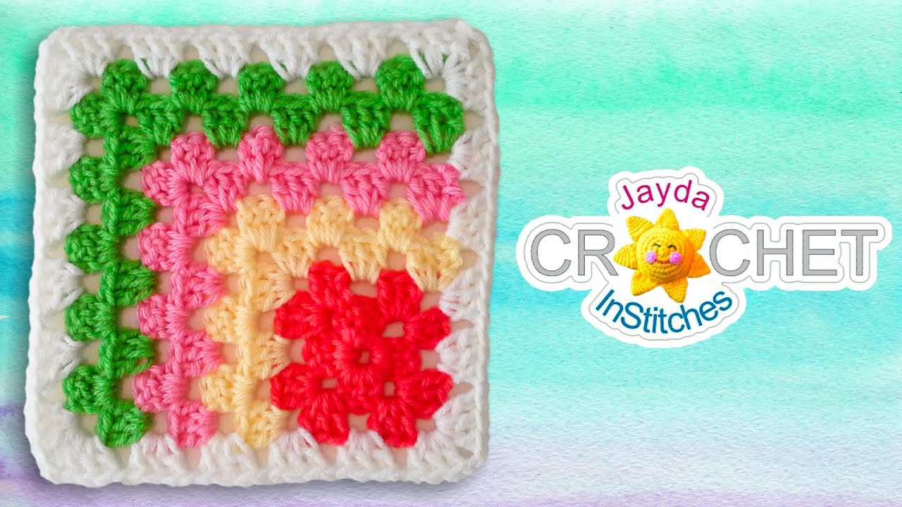 Mitered granny square crochet pattern youtube bankloansurffo Images
