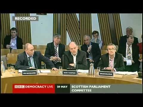 BBC Chiefs appear in front of Holyrood Committee