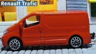 Majorette №239B Renault Trafic Rouge red フランスのダイカスト製ミニ...
