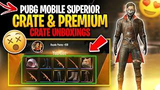 PUBG MOBILE Superior Crate & Premium Crate Unboxings