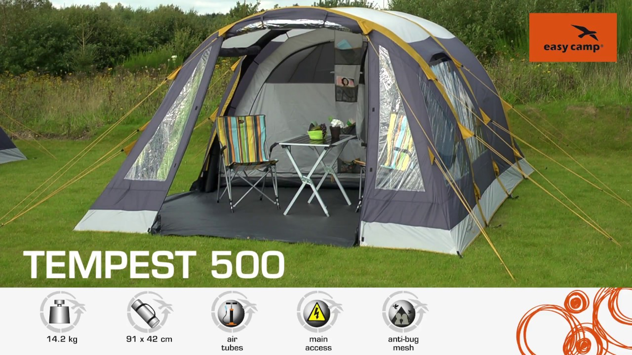 video Easy Camp Tempest 500 Tent