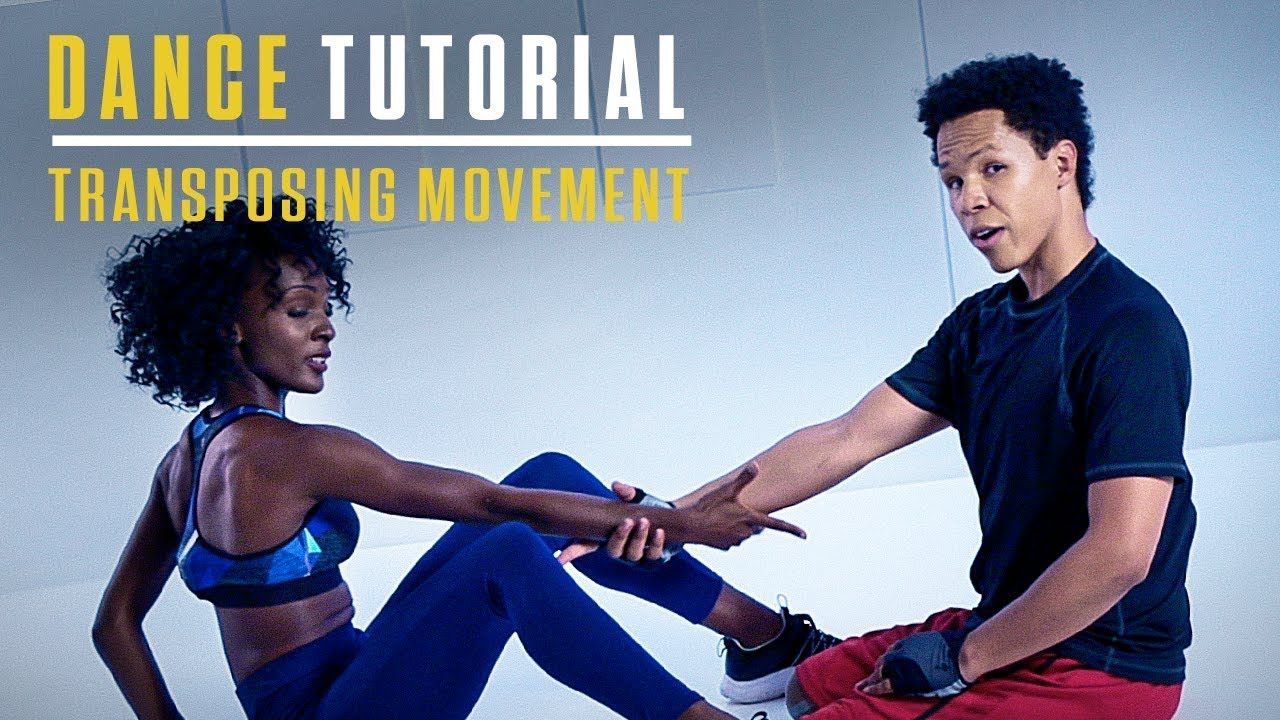 Blue Water High Cast step up: high water | dance tutorial | transposing movement