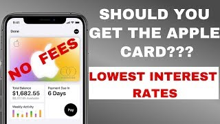 NEW Apple Credit Card! FULL Breakdown & Review [Should you get it?]
