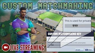 🔴 Custom Matchmaking - Code in Description [Fortnite] LIVE