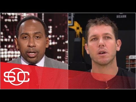 Luke Walton on LeBron James: 'He's been unbelievable' for young Lakers | SportsCenter