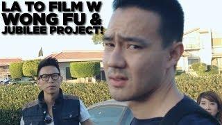 FILMING w WONG FU & JUBILEE PROJECT!