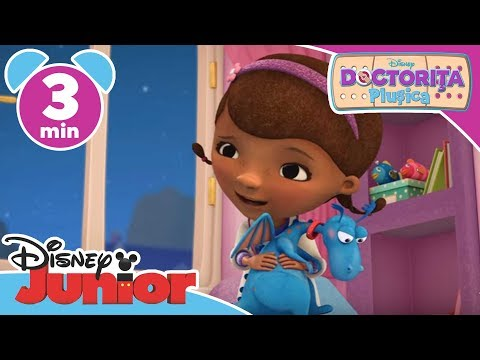 Doctorița Plușica – Stetoscopul magic al Plușicăi. Doar la Disney Junior!
