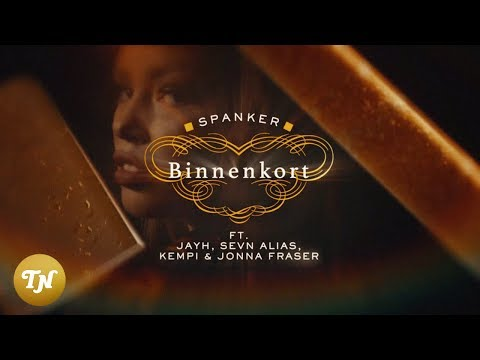 Spanker - Binnenkort ft. Jayh, Sevn Alias, Kempi & Jonna Fraser (Lyrics video)